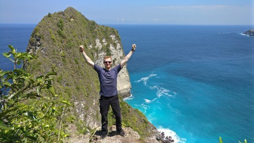 Exploring Nusa Penida